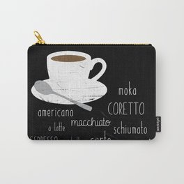 Coffee poster Carry-All Pouch