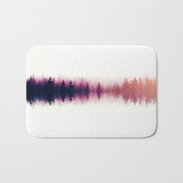 Sound waves -fall Bath Mat