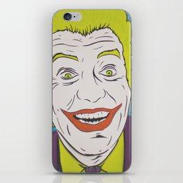 Vintage Joker Spray Painting iPhone Skin
