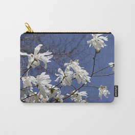 Star filled sky (Star Magnolia flowers!)      Edit Carry-All Pouch