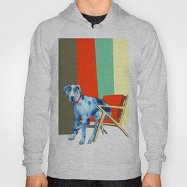 Great Dane in Chair #1 Hoody