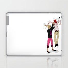 Awkward sibling love - One Piece Laptop & iPad Skin