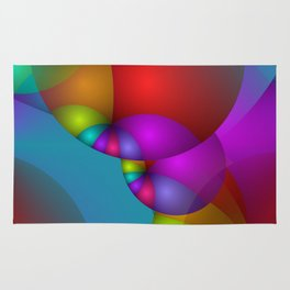 3D abstraction -14- Rug