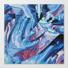 Metallic Thunderbolts Canvas Print