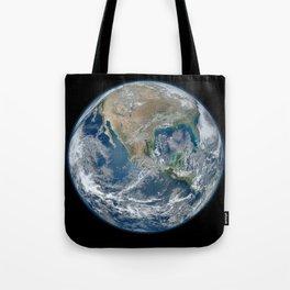 Blue Marble (North American) Tote Bag