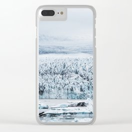 Fjallsarlon Iceberg Lagoon Clear iPhone Case