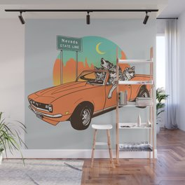 On The Prowl Wall Mural