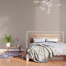Mid Century Modern Atomic Boomerang Pattern Pink 103 Wallpaper