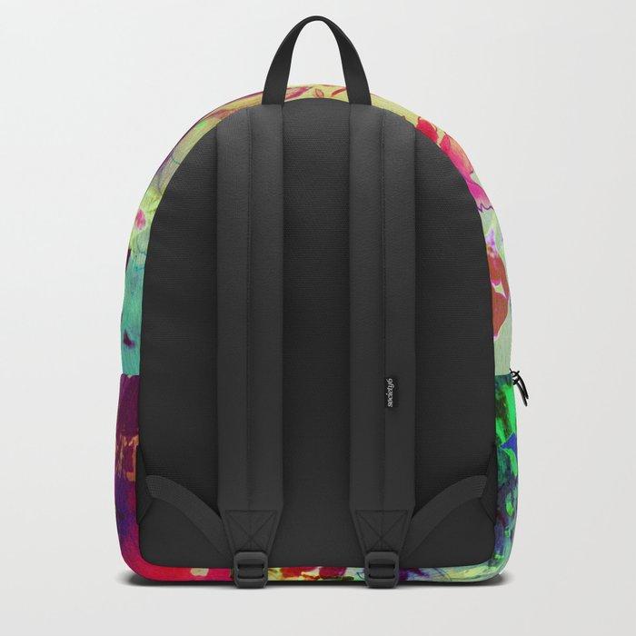 luminous bouquet Backpack