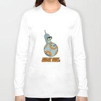 bender Long Sleeve T-shirts featuring Bender Bending 8 by slurmo