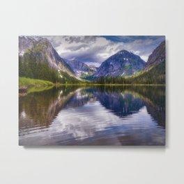 Misty Fiords Lake Metal Print