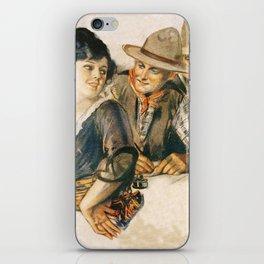 Western Romance iPhone Skin