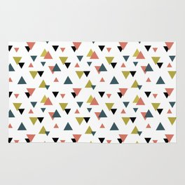 Triangle colorful pattern Rug