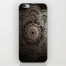 Silver Mandala iPhone Skin