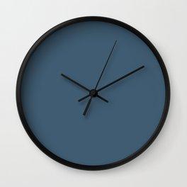 Real Teal Wall Clock