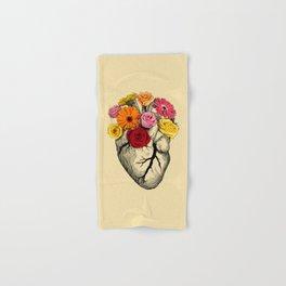 Flower Heart Hand & Bath Towel