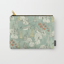 arctic retro Carry-All Pouch