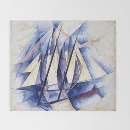 Sail Movements Throw Blanket