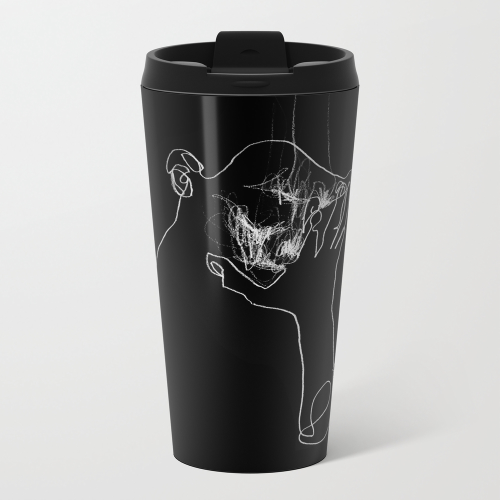 As Tears Go By Metal Travel Mug by Bensonkoo MTM9098676