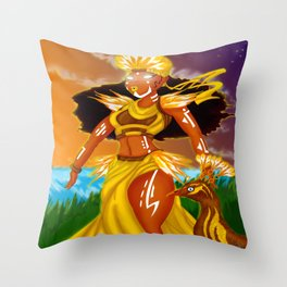 Oshun Throw Pillow