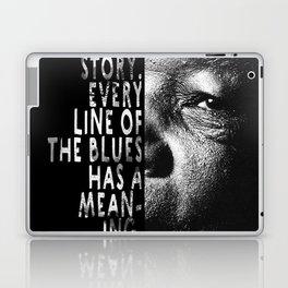 The Blues Tells A Story Laptop & iPad Skin