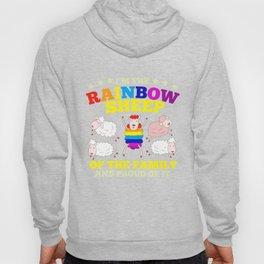 LGBT pride rainbow sheep family gift Hoody