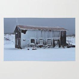 Snow Caked Barn Rug