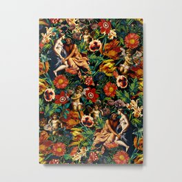 HERA and ZEUS Garden Metal Print