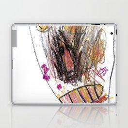 Pizza Face Laptop & iPad Skin