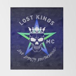 Lost Kings MC Throw Blanket