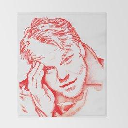 Philip Seymour Hoffman in Red Throw Blanket