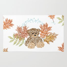Autumn Bear Rug
