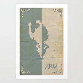 The Legend of Zelda: Twilight Princess Art Print