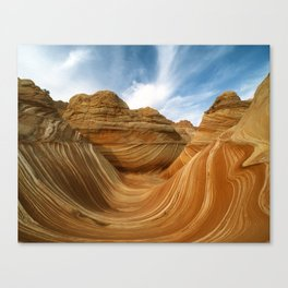 The Wave-Paria Wilderness Canvas Print