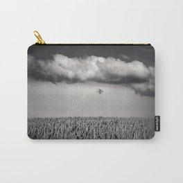 cloud over wheat field Carry-All Pouch