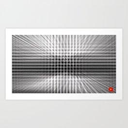 Qpop - Continuum 3 Art Print
