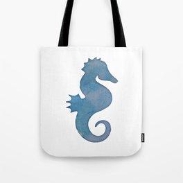 Watercolor Seahorse by Lo Lah Studio Tote Bag