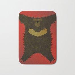 Bear skin rug Bath Mat