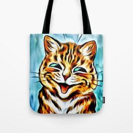 "Louis Wain's Cats ""Winking Cats"" Tote Bag"