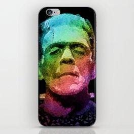 frankenstein - pop art iPhone Skin