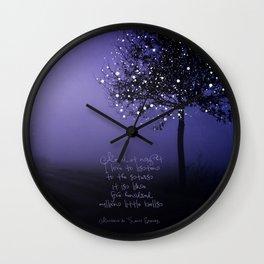 A MILLION STARS Wall Clock