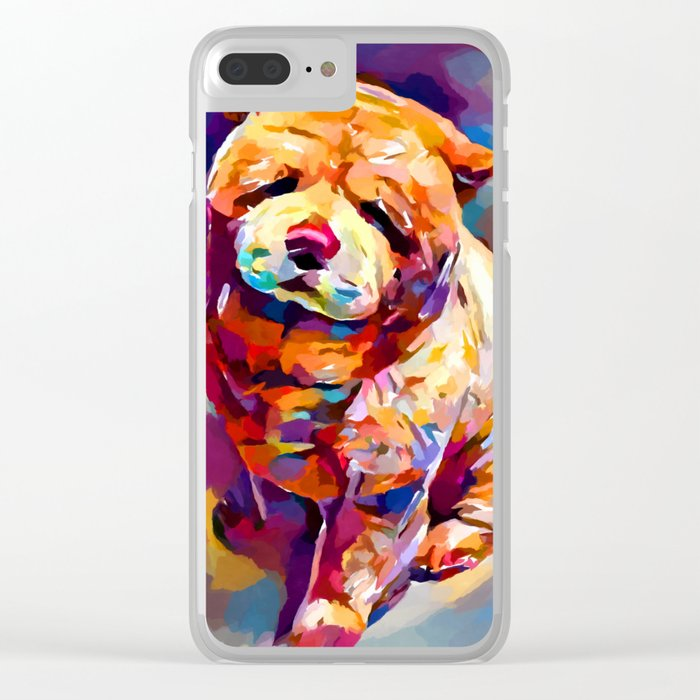 Chow Chow 2 Clear iPhone Case
