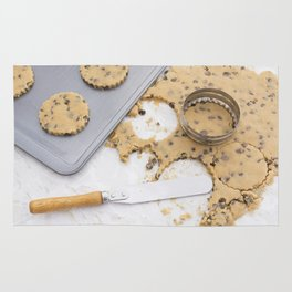 Making cookies Rug