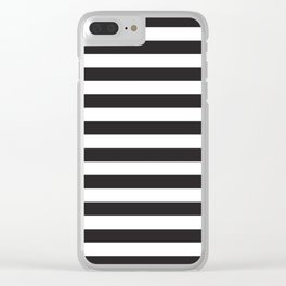 ALWAYS STRIPES Clear iPhone Case