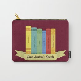The Jane Austen's Novels III Carry-All Pouch