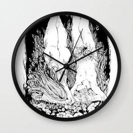 Au Naturel Wall Clock