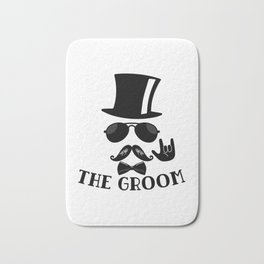 The Groom Bath Mat