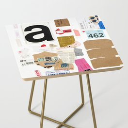 Paper Trail I  Side Table