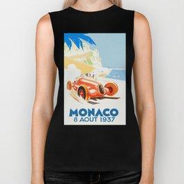 Grand Prix Monaco 1937 Biker Tank