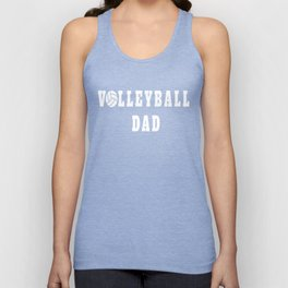 Volleyball Dad Quote Unisex Tank Top